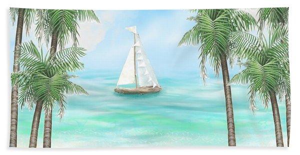 Carribean Bay Hand Towel