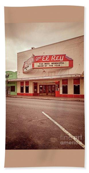 Cine El Rey Theater Bath Towel