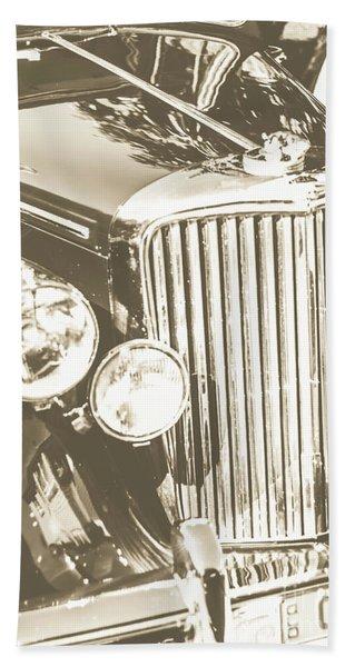 Classic Car Chrome Hand Towel