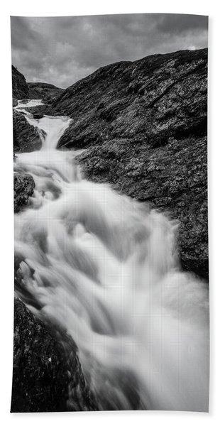 close to Ygnisdalselvi, Norway Hand Towel