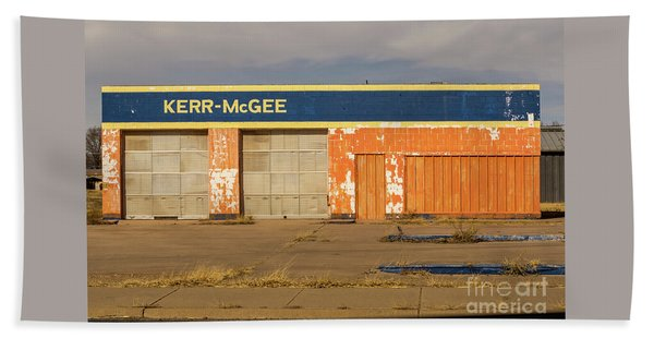 Closed Kerr - Mcgee Station Hand Towel