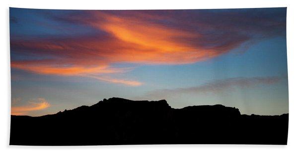 Cloud Over Mt. Boney Hand Towel