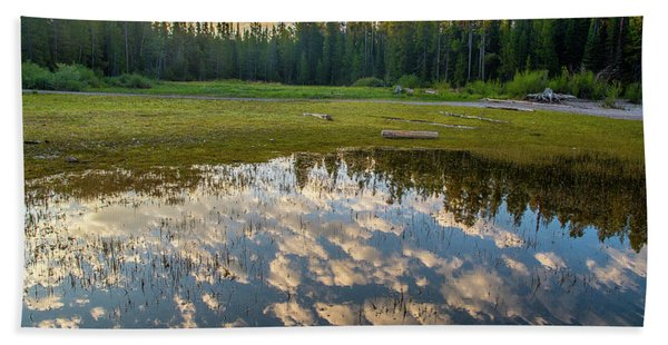 Colter Bay Reflections Hand Towel