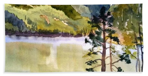 Como Lake Bath Towel