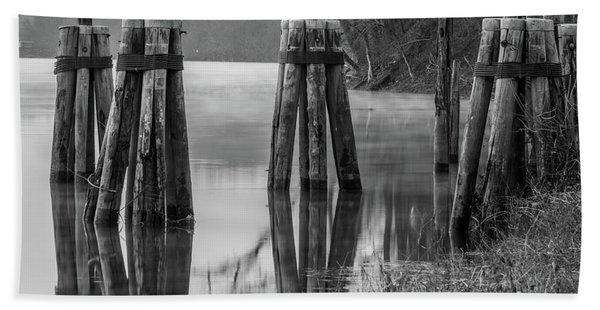 Connecticut River At Dawn Hand Towel