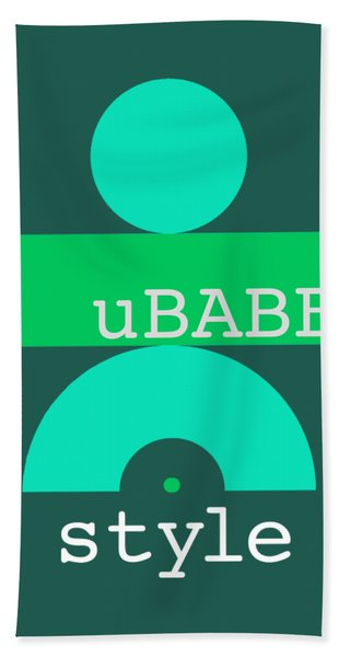 Cool Green Style Hand Towel