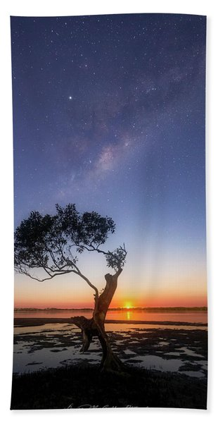 Cosmic Tree Hand Towel