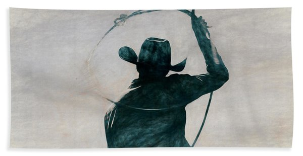 Cowgirl Blue Hand Towel
