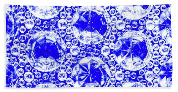 Cut Glass Beads 1 Bath Towel