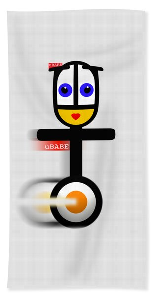 Cycle Babe Hand Towel