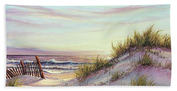 Dawn At The Beach Bath Towel