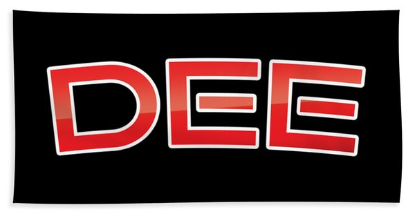Dee Bath Towel