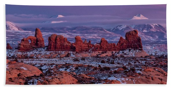Desert Beauty 3 Hand Towel