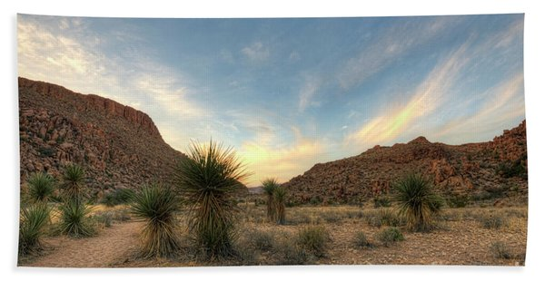Desert Hike Hand Towel