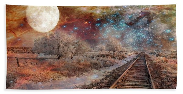 Destination Universe Bath Towel