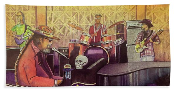Dr John At Lake Dillon Amphitheater Hand Towel