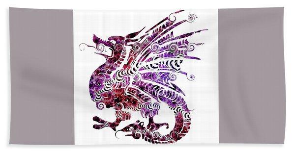 Dragon Tattoo Hand Towel