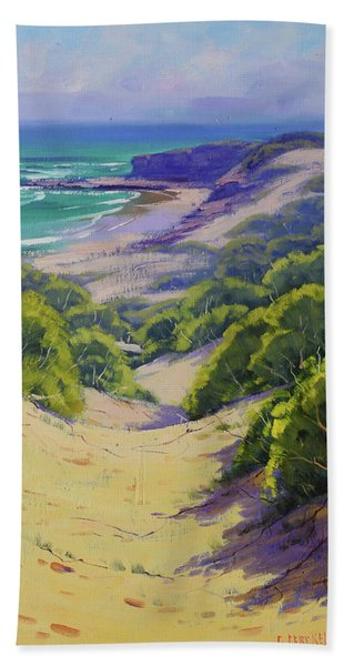Dunes To The Beach Hand Towel