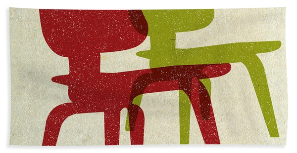Eames Molded Plywood Chairs II Hand Towel