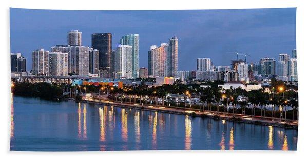 Early Rise Miami Bath Towel