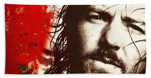 Eddie Vedder Hand Towel