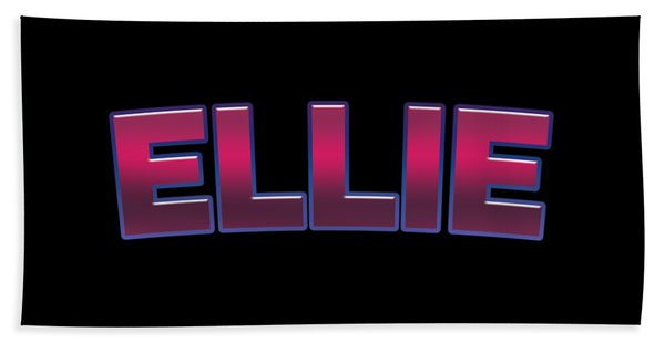 Ellie #ellie Bath Towel