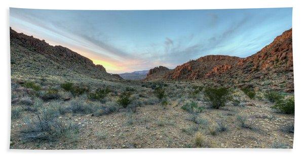 Evening In The Desert Hand Towel