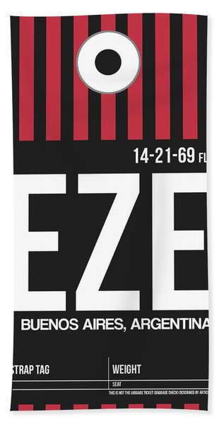 Eze Buenos Aires Luggage Tag II Hand Towel