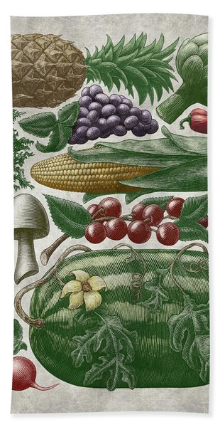 Farmer's Market - Color Bath Towel