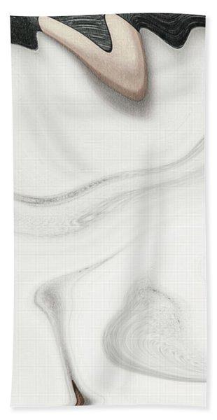 Feminine I Bath Towel