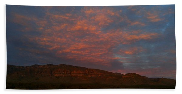 First Light Over Texas 3 Bath Towel