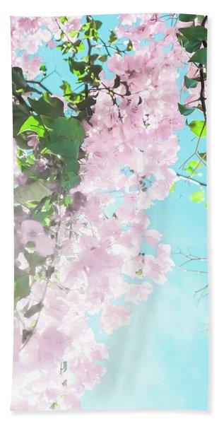 Floral Dreams IIi Bath Towel