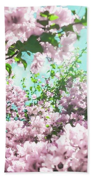 Floral Dreams Iv Bath Towel