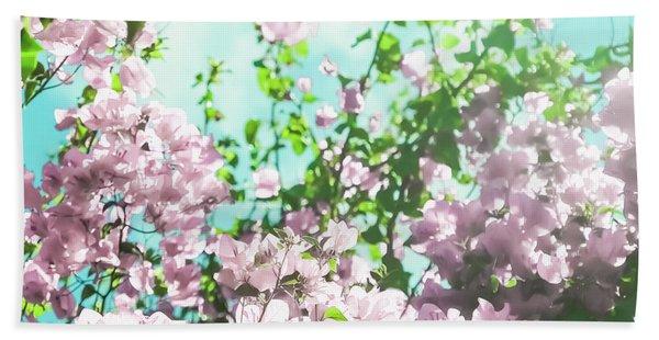 Floral Dreams V Hand Towel