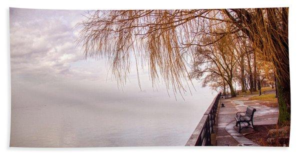 Foggy Niagara Bath Towel