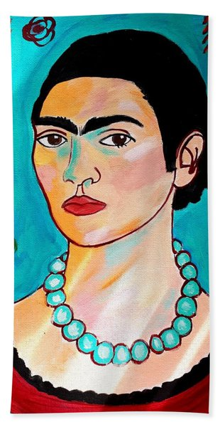 Frida Kahlo Hand Towel