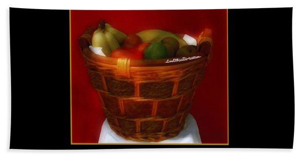 Fruit  Art 36 Bath Towel