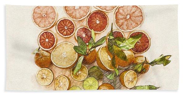 Fruits Mix Hand Towel