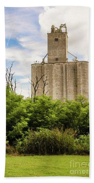 Geary Grain Elevator Hand Towel