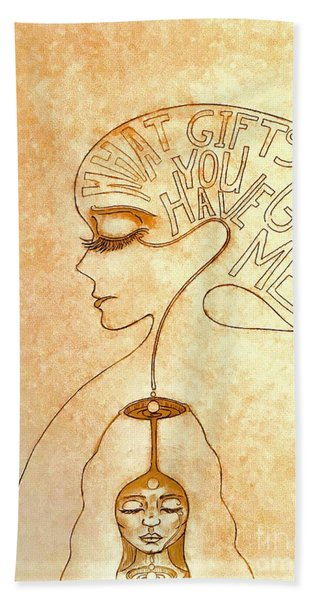Gifts Of The Mind Hand Towel