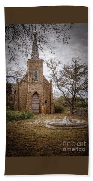 Gothic Revival Church  Hand Towel