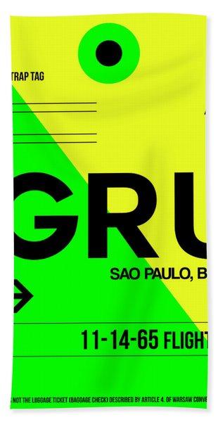 Gru Sao Paulo Luggage Tag I Hand Towel