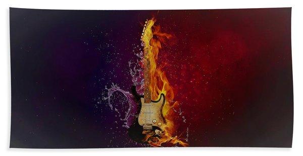 Guitarhythm Hand Towel