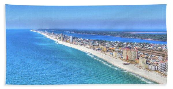 Gulf Shores Beaches 1335 Tonemapped Bath Towel
