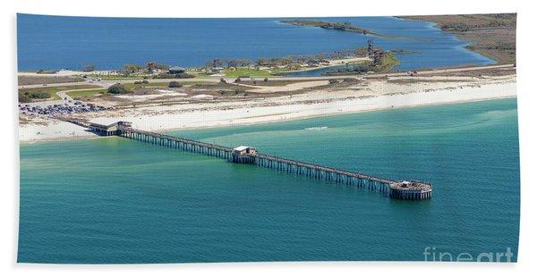 Gulf State Park Pier 7464n Bath Towel