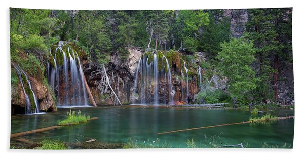 Hanging Lake Colorado Bath Towel