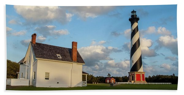 Hatteras Lighthouse No. 2 Bath Towel