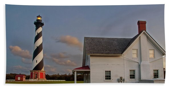 Hatteras Lighthouse No. 3 Bath Towel