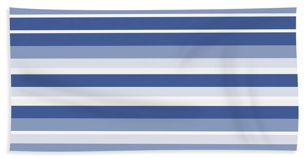 Horizontal Lines Background - Dde607 Bath Towel