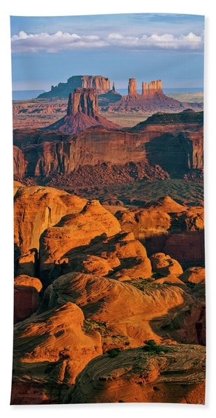 Hunts Mesa Sunrise Hand Towel